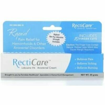 RectiCare Anorectal Cream 1 oz
