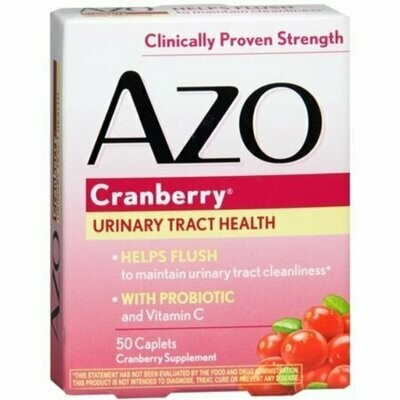 AZO Cranberry Tablets 50 each