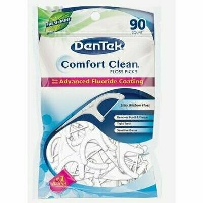 DenTek Comfort Clean Silk Floss Picks 90 Each
