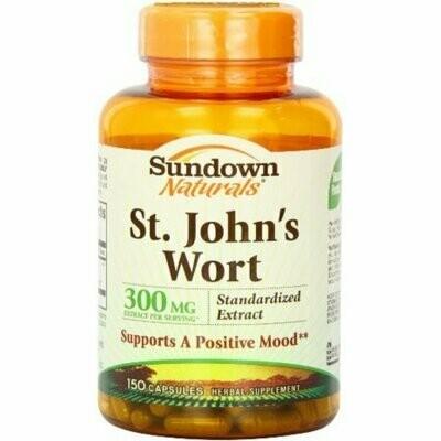 Sundown St. John's Wort Capsules 150 each