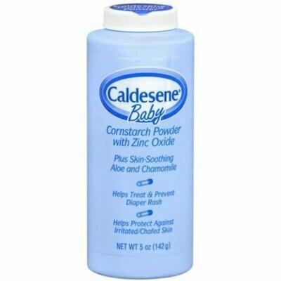 Caldesene Baby Cornstarch Powder With Zinc Oxide 5 oz