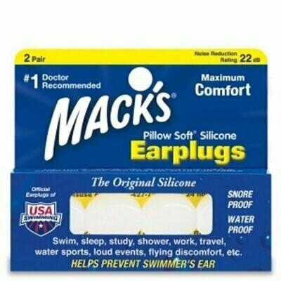 Macks Pillow Soft Silicone Ear Plugs