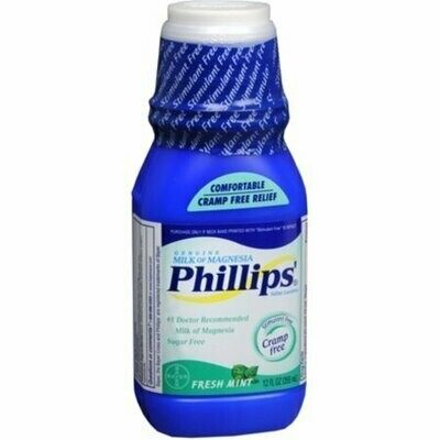 Phillips' Milk of Magnesia, Fresh Mint 12 oz