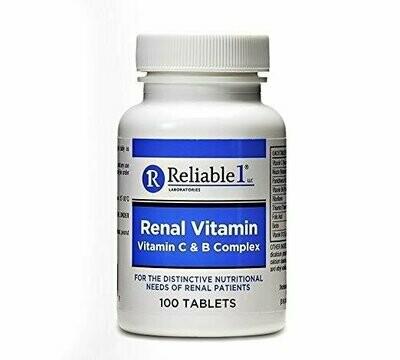Reliable 1 Renal Vitamin C & B Complex