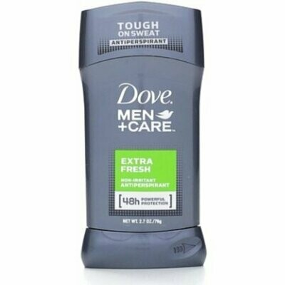 Dove Men + Care Antiperspirant Deodorant Stick, Extra Fresh 2.70 oz