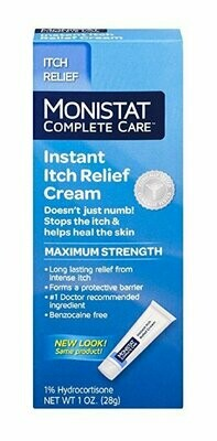 MONISTAT ITCH RELIEF CREAM 1 OZ