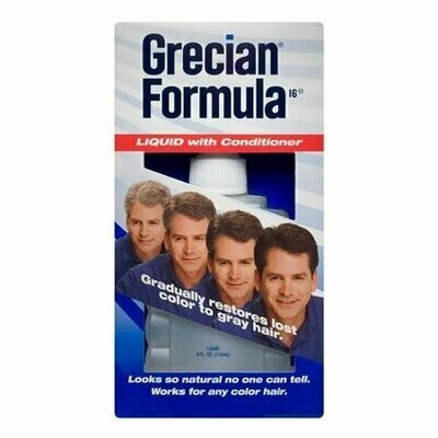 Grecian Formula Liquid with Conditioner For Hair, 4 oz