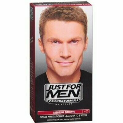 JUST FOR MEN Hair Color Medium Brown 35, 1 each