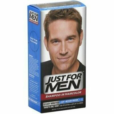 JUST FOR MEN Hair Color Light-Medium Brown H30 1 Each