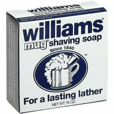 Williams Mug Shaving Soap Regular 1.75 oz
