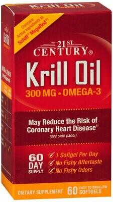 KRILL OIL 350MG SOFTGELS 60CT