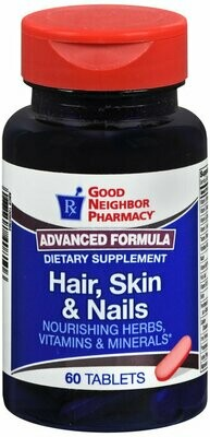 GNP HAIR SKIN & NAILS TAB 60 CT