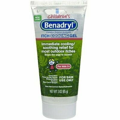 BENADRYL KIDS ANTI-ITCH GEL 3OZ