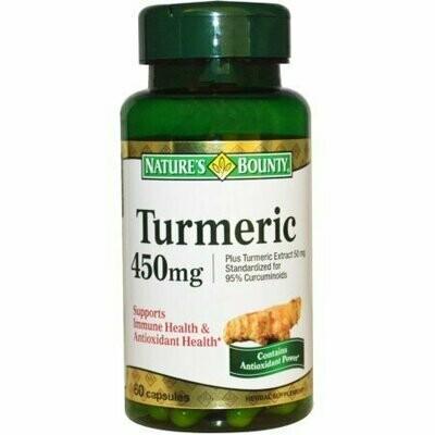 Nature's Bounty Turmeric 60 Capsules