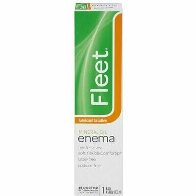 Fleet Mineral Oil Enema 4.50 oz