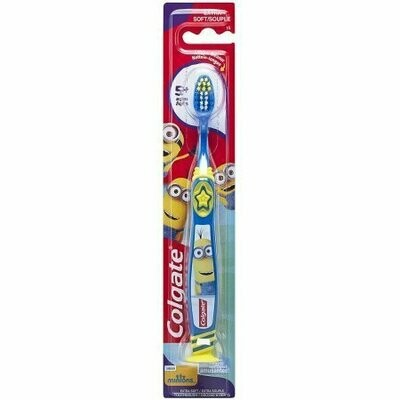Colgate Kids Minions Toothbrush, Extra Soft 1 each