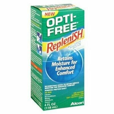 OPTI-FREE RepleniSH Multi-Purpose Disinfecting Solution 4 oz