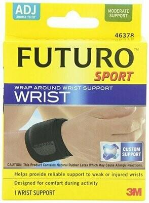 Futuro Sport Wrap Around Wrist Support, Adjustable, Moderate Support