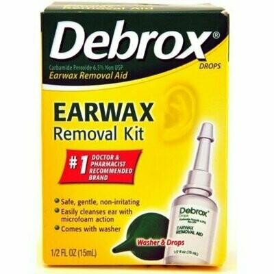 Debrox Earwax Removal Aid Kit 0.5 oz