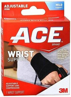Ace Mild Wrist Support Adjustable - 1 each