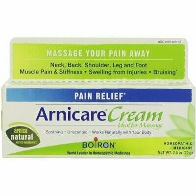 Boiron Arnicare Cream Homeopathic Medicine 2.50 oz