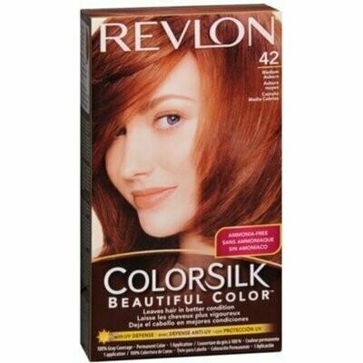 Revlon ColorSilk Hair Color, 42 Medium Auburn 1 each