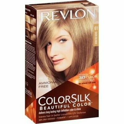 Revlon ColorSilk Beautiful Color, Dark Blonde [61] 1 each