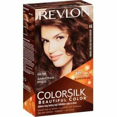 Revlon Colorsilk Beautiful Color, Medium Golden Chestnut Brown [46] 1 each