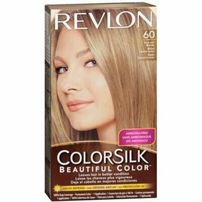 Revlon ColorSilk Hair Color 60 Dark Ash Blonde 1 Each