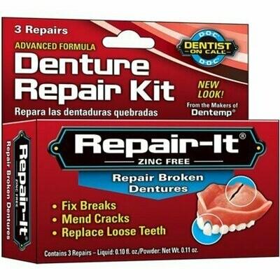 D.O.C. Emergency Denture Repair Kit 3 Each