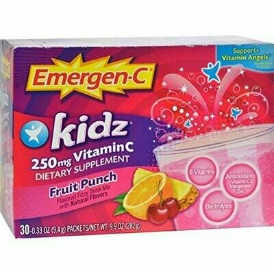 Emergen-C Kidz, Fruit Punch, 30 Packet