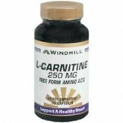 L-CARNITINE 50 CAPS 250 MG WINDMILL