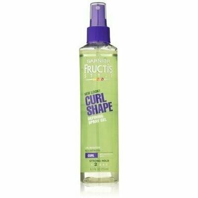 Garnier Fructis Style Curl Shaping Spray Gel Strong 8.50 oz