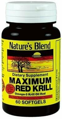 Maximum Red Krill Omega 3 Oil