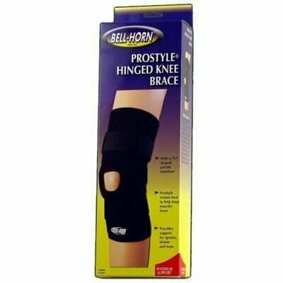 Elastic Knee Support Black Large 16 -18 by Bell-Horn