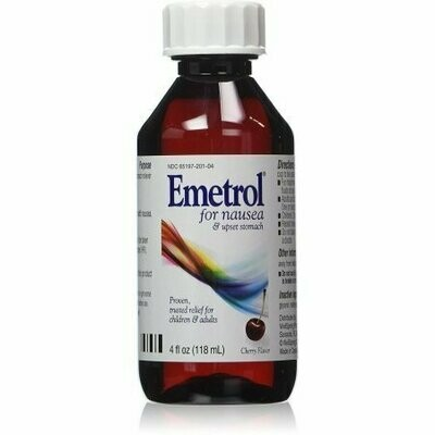 Emetrol Nausea Relief Liquid Cherry 4 oz