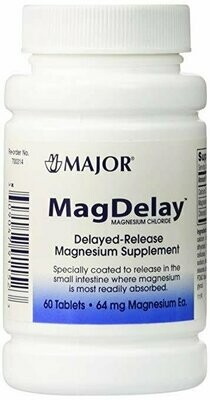 Major MagDelay 64mg Tablets - 60 each