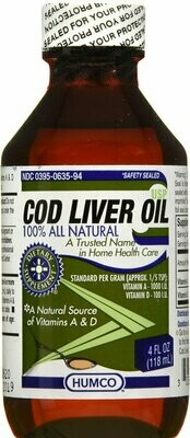 COD LIVER OIL 4 OZ HUMCO