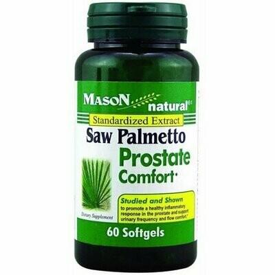 Mason Naturals Saw Palmetto Prostate Comfort Softgels 60 each