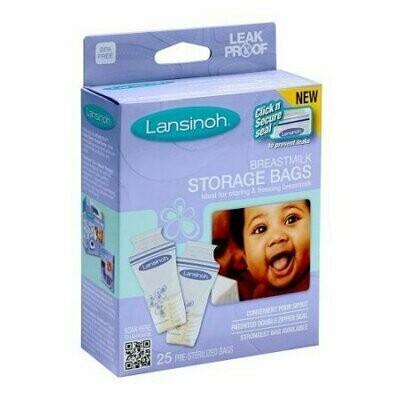 Lansinoh Breastmilk Storage Bags 25