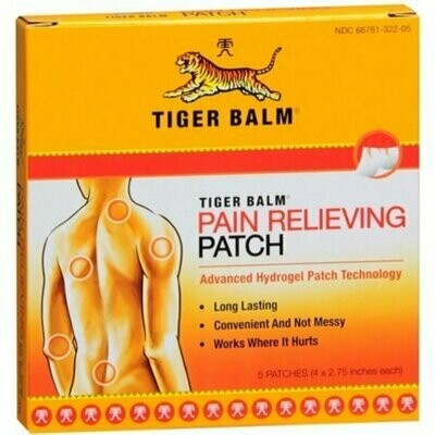 Tiger Balm Patches 5 Each