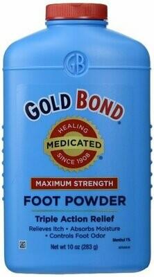 GOLD BOND FOOT POWDER 10OZ