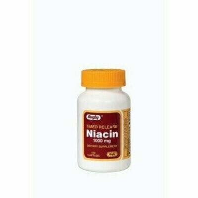 RUGBY NIACIN TR 1000MG CAPTAB NIACIN-1000 MG off white 100 TABLETS