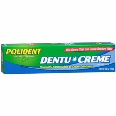 Polident Dentu-Creme 3.90 oz