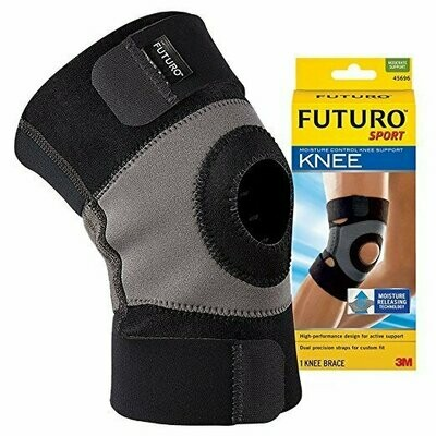 Futuro Sport Moisture Control Knee Support, Moderate Support, Large