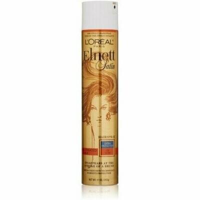L'Oreal Elnett Satin Hairspray Extra Strong Hold Color-Treated Hair 11 oz