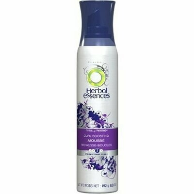 Herbal Essences Totally Twisted Curl Boosting Mousse, 3 Strong 6.8 oz