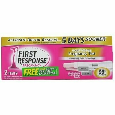 FIRST RESPONSE Gold Digital Early Result Pregnancy Tests 2 Each