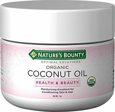 Nature's Bounty Optimal Solutions Coconut Oil, 7oz
