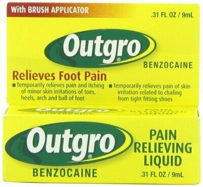 OUTGRO TOE NAIL PAIN LIQUID 0.31OZ